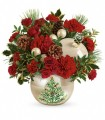 Teleflora's Classic Pearl Ornament by CCF
