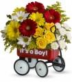 Baby's Wow Wagon -Boy - by CCF