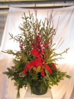 Caan Floral - Evergreen Tree Topper