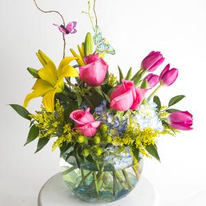 Bel Aire Butterfly Kisses Bouquet