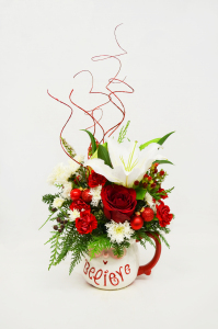 Bel Aire Believe in Santa Bouquet