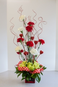 Bel Aire Hearts on Fire Bouquet