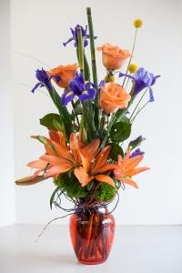 Bel Aire Orange Dream Bouquet