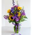 Bel Aire Sunflower Passion Bouquet