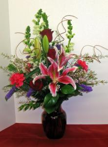 The Bel Aire Romantic Garden Bouquet