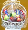 GET WELL FRUIT AND COOKIE BASKET