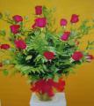 INTRIGUING ROSES IN ITALIAN RUSCUS