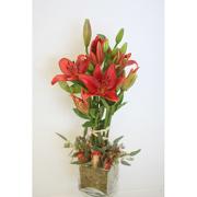 Lily Tree Floral Arrangement