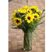 LA115 Sunflower Garden Vase