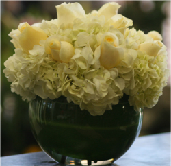 Classic White Flower Arrangement