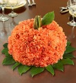 Fresh Flower Pumpkin