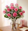 Premium Long Stem Pink Roses