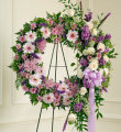 Serene Blessings Standing Wreath - Lavender