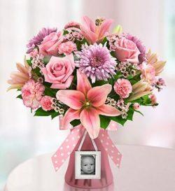 Sweet Baby Girl Arrangement