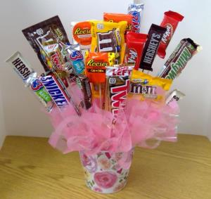 Candy Bouquet in Ford PickUp