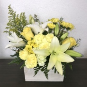 Golden Glory Floral Arrangement
