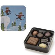 Chocolate Tin - Ski Patrol