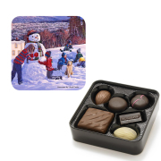Chocolate Tin - Snowman
