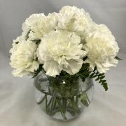 12 Carnation Centerpiece - Standard
