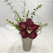 Orchid Faux Planter Centerpiece - Standard