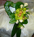 Green Cymbidium Heart