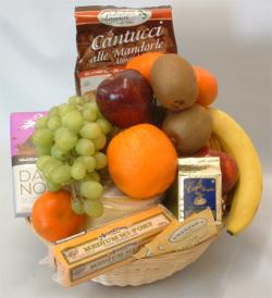 Deluxe Fruit and Gourmet Basket