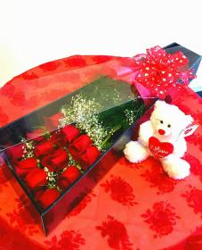 First Impression of Roses and Bear