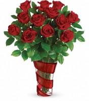 Dancing In Roses Bouquet