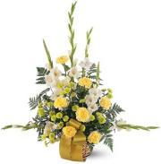 Vibrant Yellow Basket