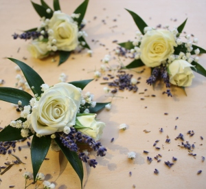 Oleander\'s Provence Inspired Boutonniere