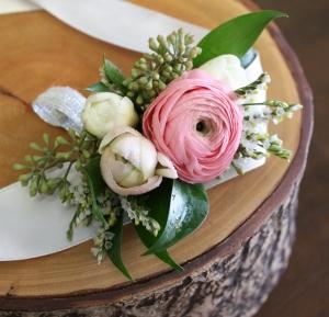 Oleander\'s Romantic Ranunculus Corsage