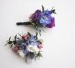 Oleander's True Blue Corsage/Boutonniere