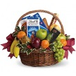 Teleflora's Fruits and Sweets Christmas Basket