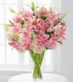 Le bouquet de lys et d'hortensias Intrigue Luxury