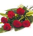 1/2 Douzaine de Roses Rouges Favorites
