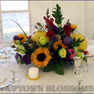 Uptown Blossoms Centerpiece