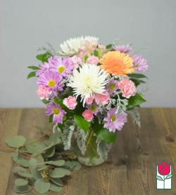 Beretania's Blush Bouquet