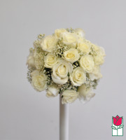 French Bouquet - Petite White