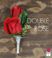 Boutineer - Double Rose