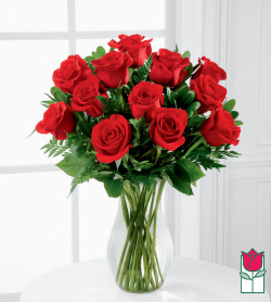 Beretania's Medium Stem Rose Arrangement