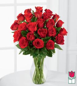 [Non-Valentine's Price] Beretania's 2 Dozen Medium Stem Rose Arrangement