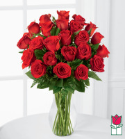 [Non-Valentine's Price] Beretania's 2 Dozen Medium Stem Rose Arrangement
