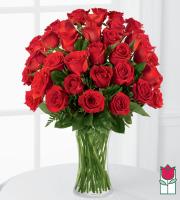 Beretania's 3 Dozen Medium Stem Rose Arrangement