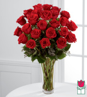 [Non-Valentine's Price] Beretania's 2 Dozen Long Stem Rose Bouquet
