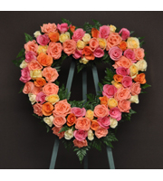 Mini Heart Wreath