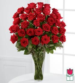 <b>[VERY LIMITED SUPPLY]</b>Valentine's Beretania's 3 Dozen Long Stem Rose Bouquet