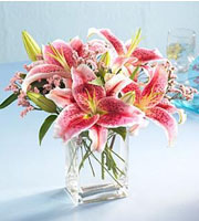 The FTD® Pink Lily ™ Bouquet