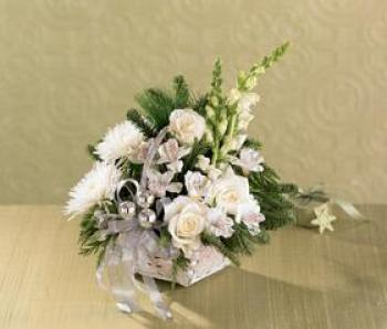 The FTD® Snowy Morning™ Bouquet