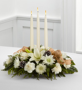 The FTD®Glowing Elegance™ Centerpiece