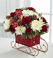 The FTD® Season's Sleigh Ride™ Bouquet